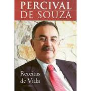 Livro Percival Souza - Receitas De Vida