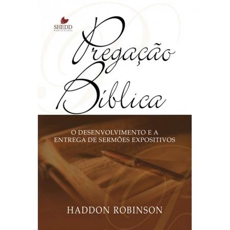 Livro Pregação Bíblica - 2o. Edição Atualizada e Ampliada