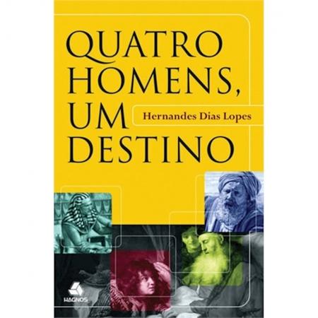 Livro Quatro Homens, Um Destino