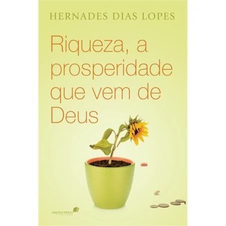 Livro Riqueza, a Prosperidade Que Vem de Deus