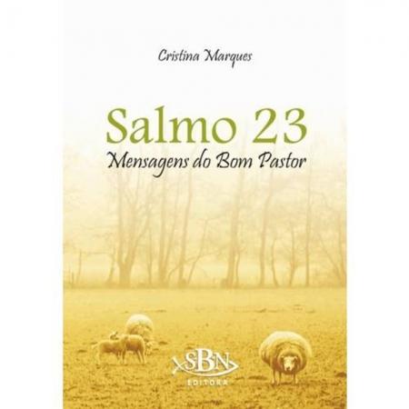 Livro Salmo 23 - Mensagens Do Bom Pastor