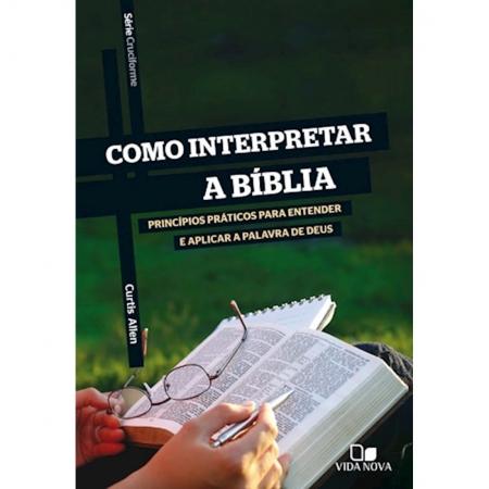 Livro Série Cruciforme - Como interpretar a Bíblia