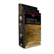 Livro Sermões de Spurgeon ? Combo Com Três Livros
