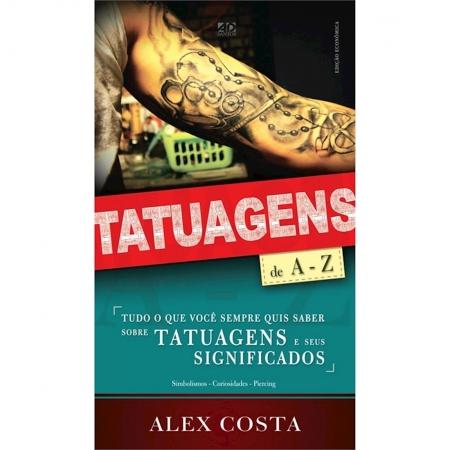 Livro Tatuagens de A-Z - Pocket