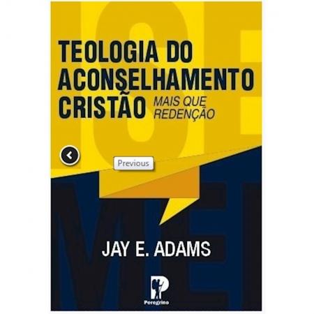 Livro Teologia do Aconselhamento Cristão