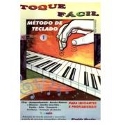Livro Toque Fácil - Método de Teclado Vol. 1