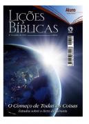 Revista Escola Dominical | Adultos - Aluno - Letra Grande (4º Trimestre - 2015)
