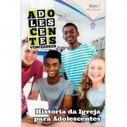 Revista Escola Dominical   Lições Bíblicas - Adolescentes - (4º Trimestre - 2020)