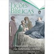 Revista Escola Dominical | Lições Bíblicas - Adultos (4º Trimestre - 2020)
