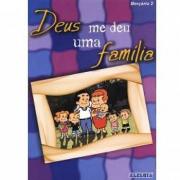 Revista Série Estudos Bíblicos Berçário 02 - Deus me deu uma Família
