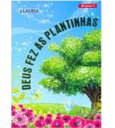 Revista Série Estudos Bíblicos Berçário 04 - Deus Fez as Plantinhas
