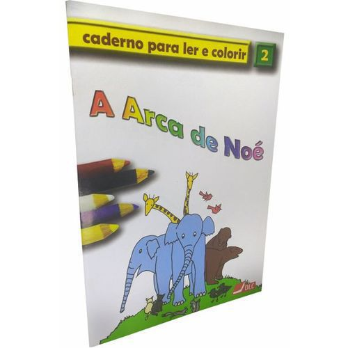 A Criação - Caderno Para Ler e Colorir - Vol 02