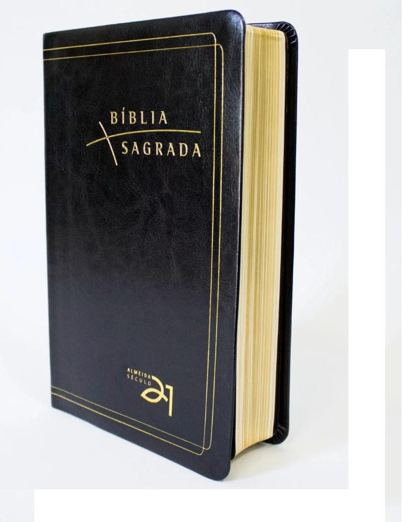 Bíblia Almeida Século 21 - Letra Grande/Luxo