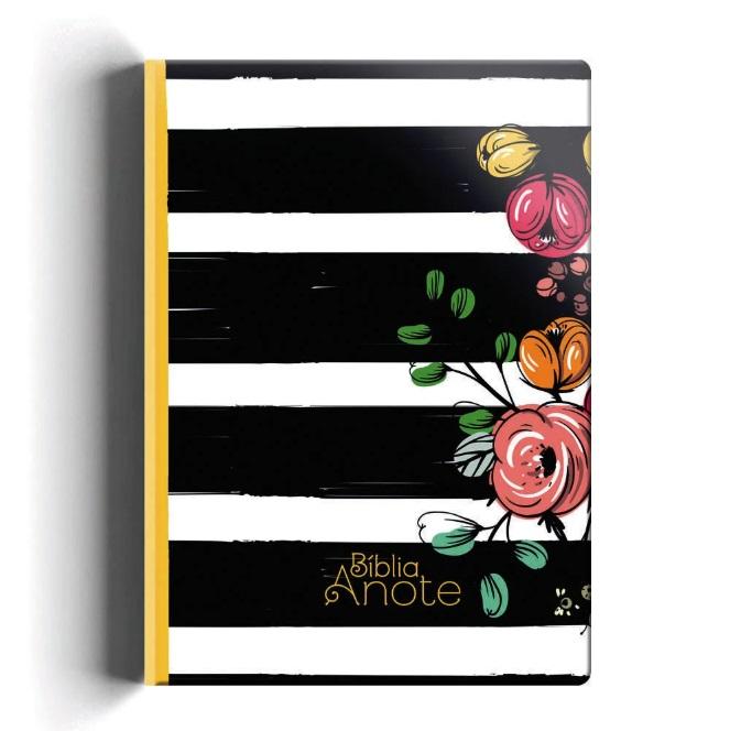 Bíblia Anote NVI capa especial - Listrada