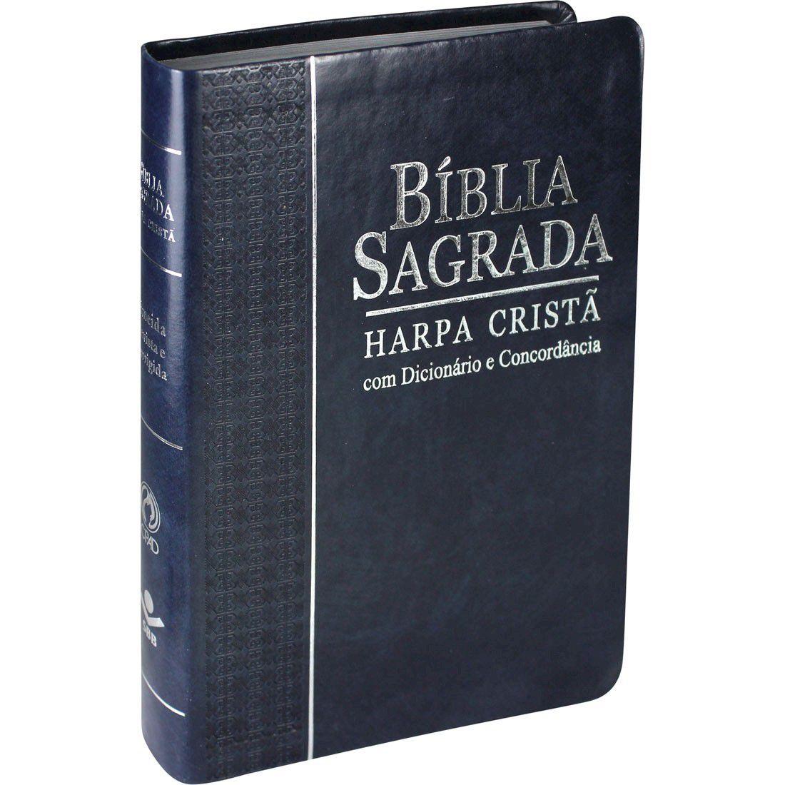 Bíblia com Harpa Cristã, Concordância, Dicionário e Índice Digital - RC
