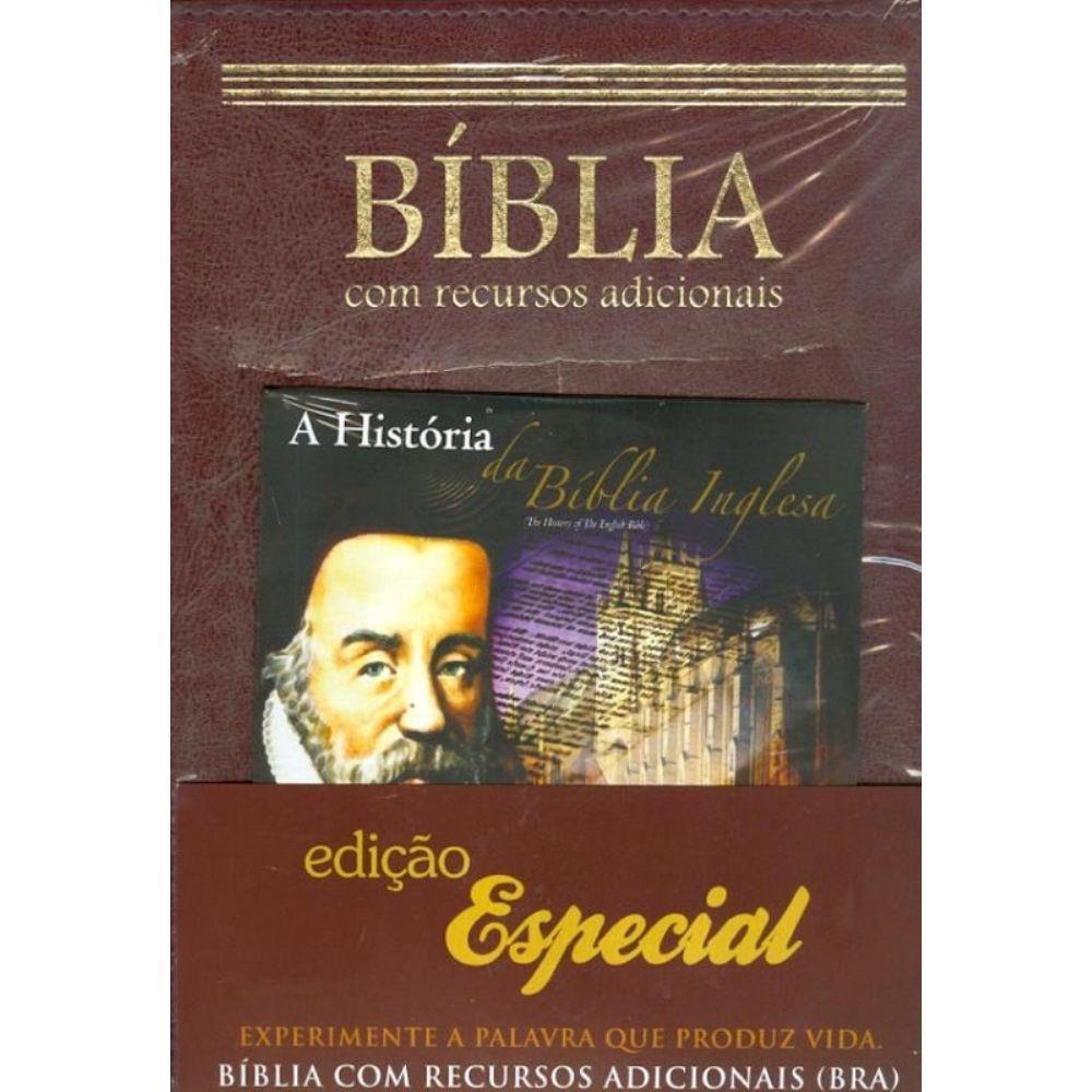 Bíblia Com Recursos Adicionais - BRA - Produto Reembalado