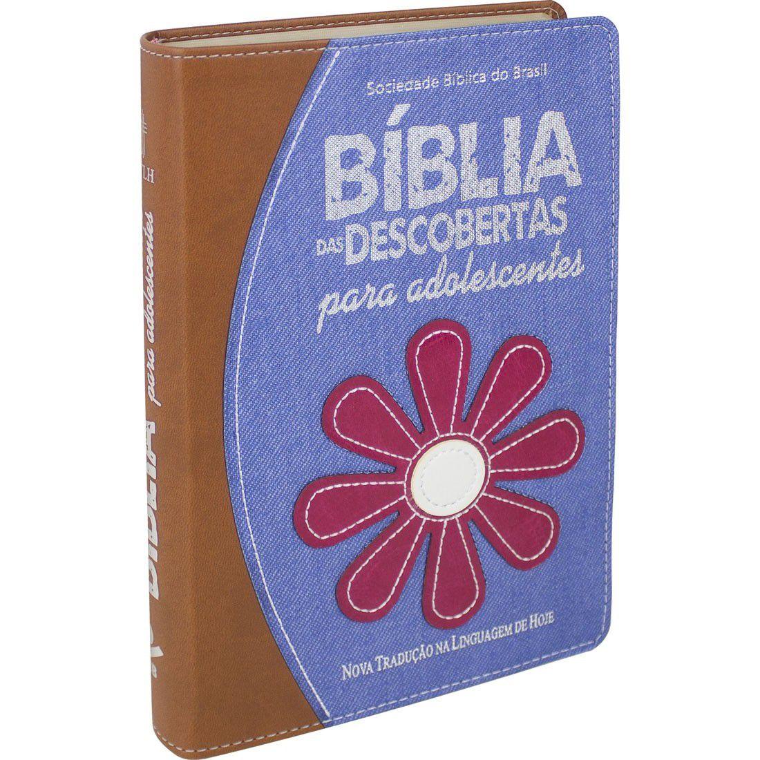 Bíblia das Descobertas Para Adolescentes - Capa Jeans