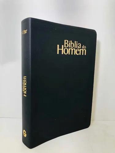 Bíblia de Estudo Devocional do Homem - NVI - Média
