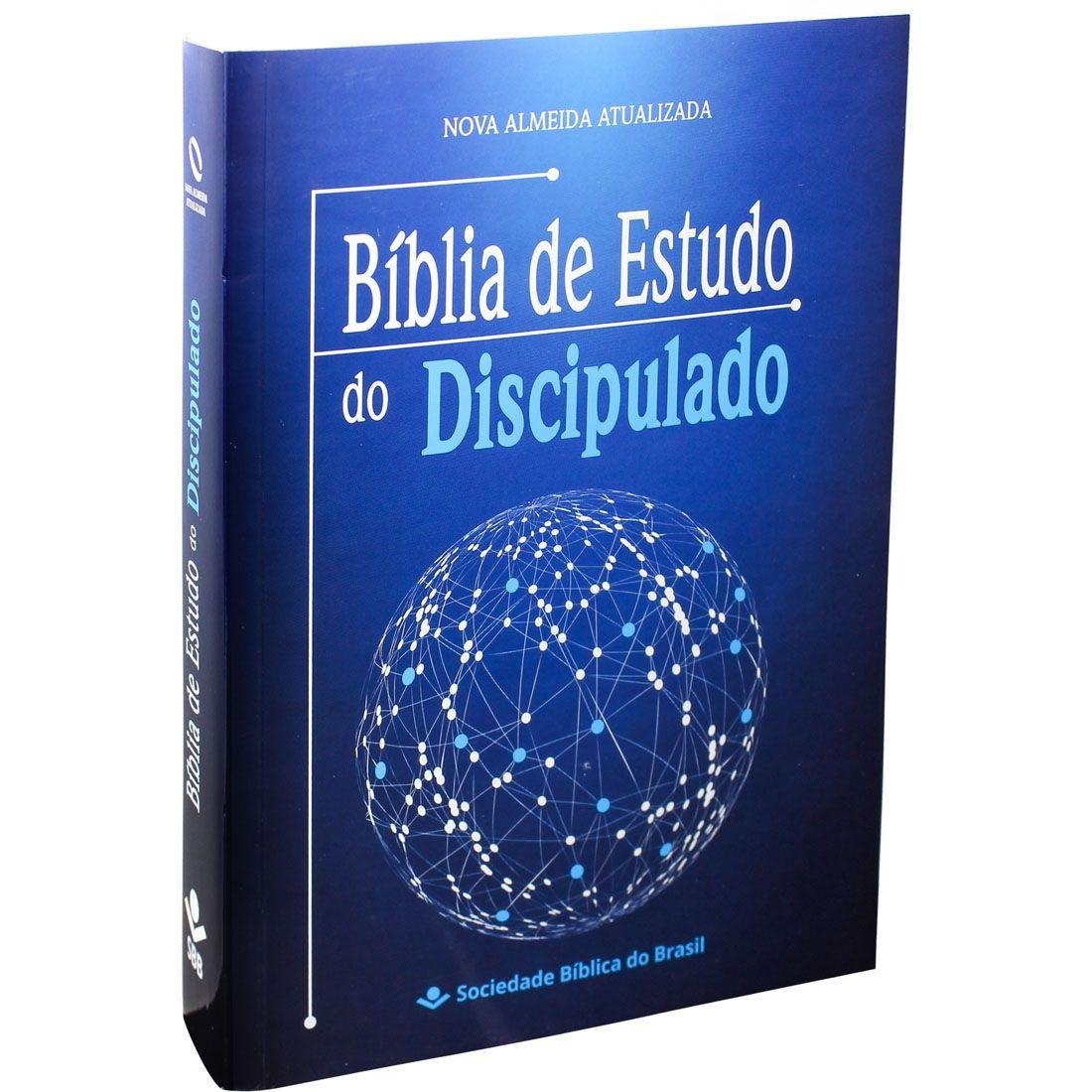 Bíblia de Estudo do Discipulado Brochura
