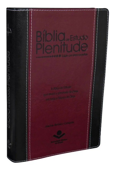 Bíblia de Estudo Plenitude - Edição com letras vermelhas