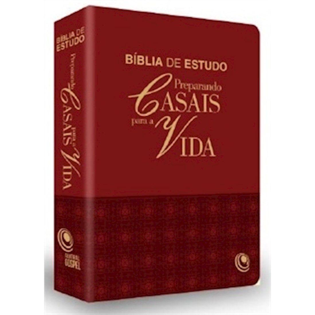 Bíblia de Estudo Preparando Casais Para a Vida