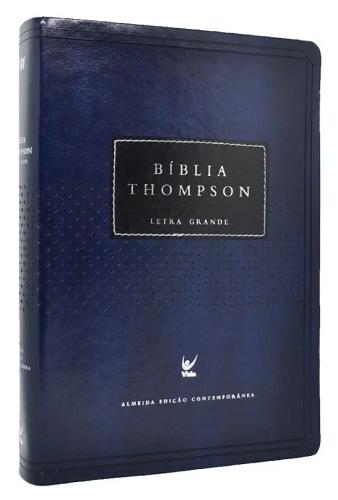 Bíblia de Estudo Thompson - Almeida Edição Contemporânea - Capa Luxo - Letra Grande