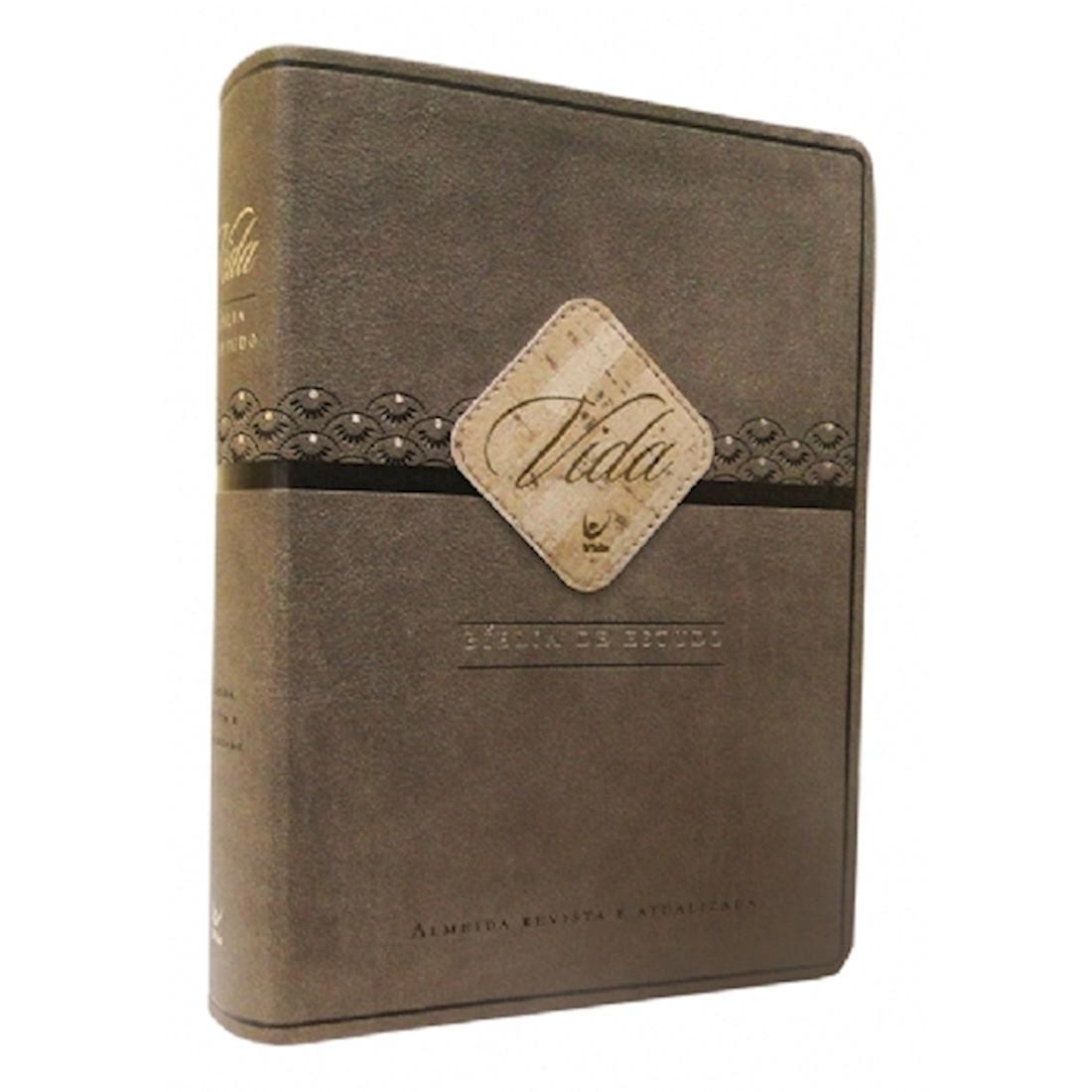 Bíblia de Estudo Vida ARA - Capa PU