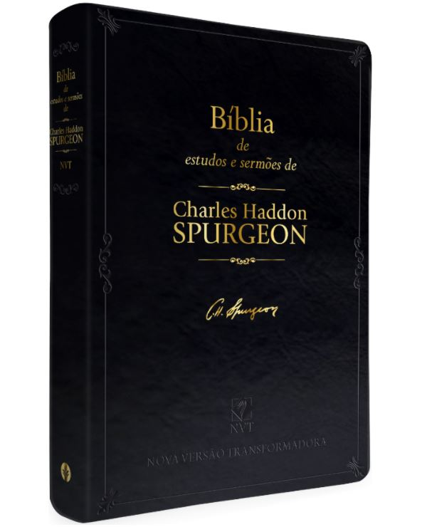 Bíblia de Estudos e Sermões de Charles Haddon Spurgeon - NVT