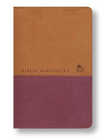 Bíblia do Ministro NVI com Concordância - Produto Reembalado