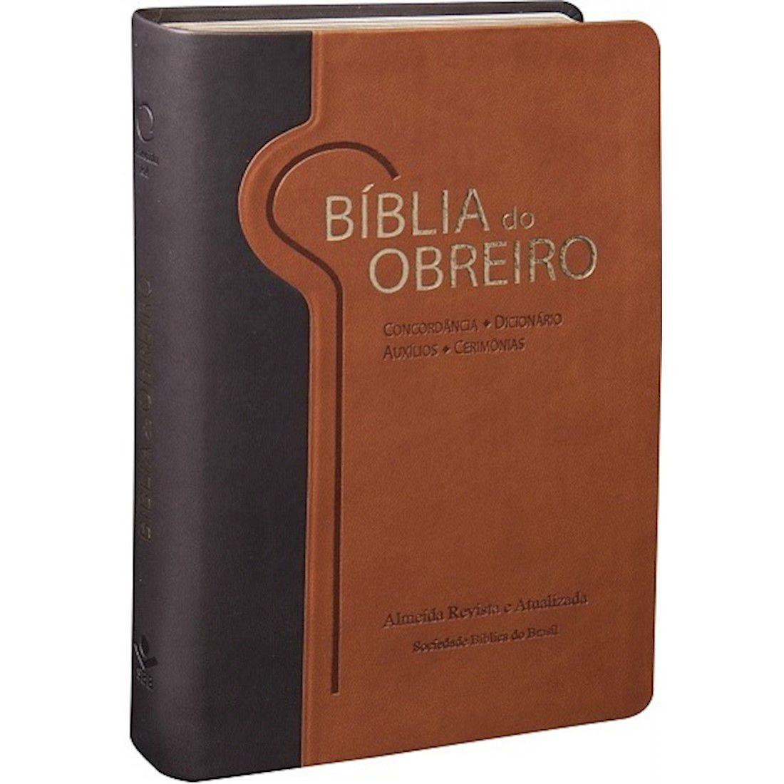 Bíblia do Obreiro - Edição com Letras Vermelhas