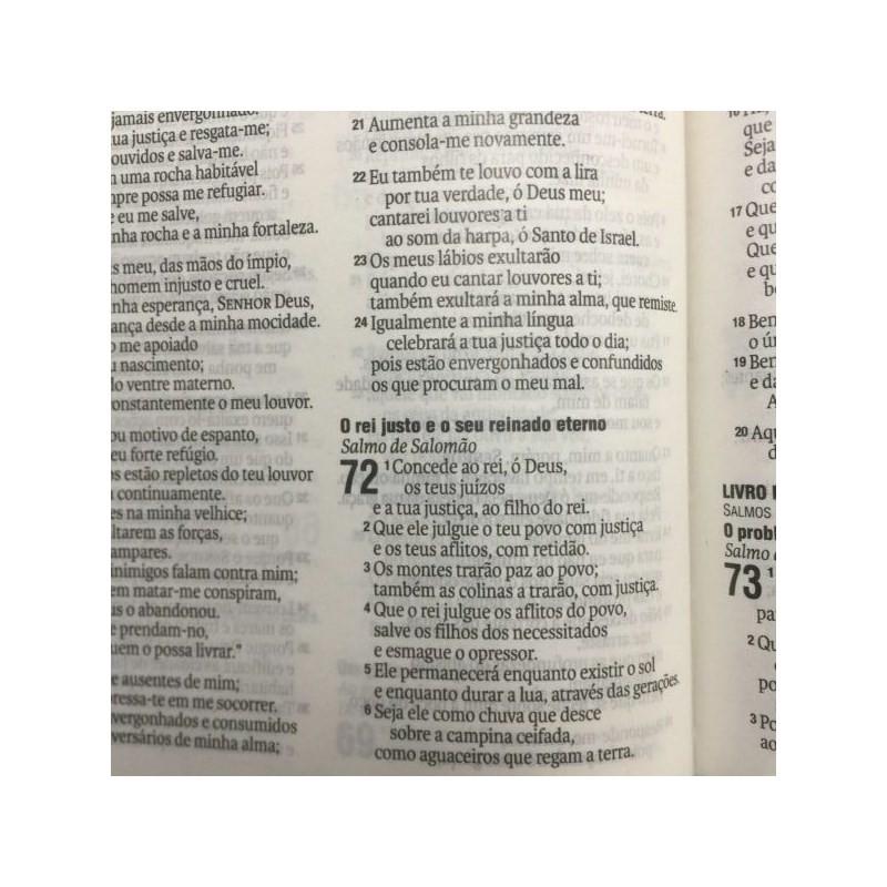 Bíblia Eu Amo a Mensagem da Cruz | NAA Letra Normal | Capa Dura Soft-Touch