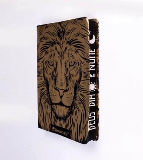 Bíblia Jesuscopy Leão Dourado - Leitura Perfeita NVI