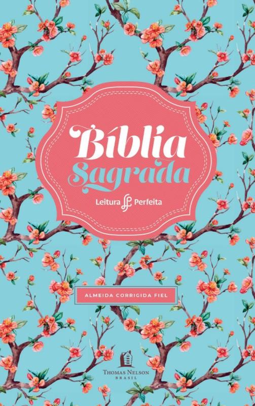Bíblia Leitura Perfeita ACF - Capa Floral