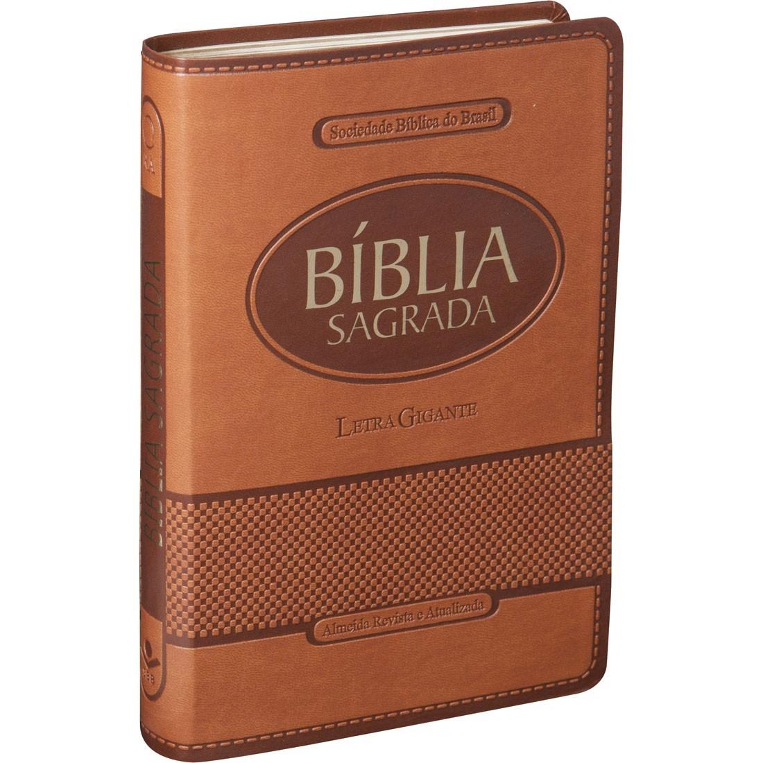 Bíblia Letra Gigante RA com Índice