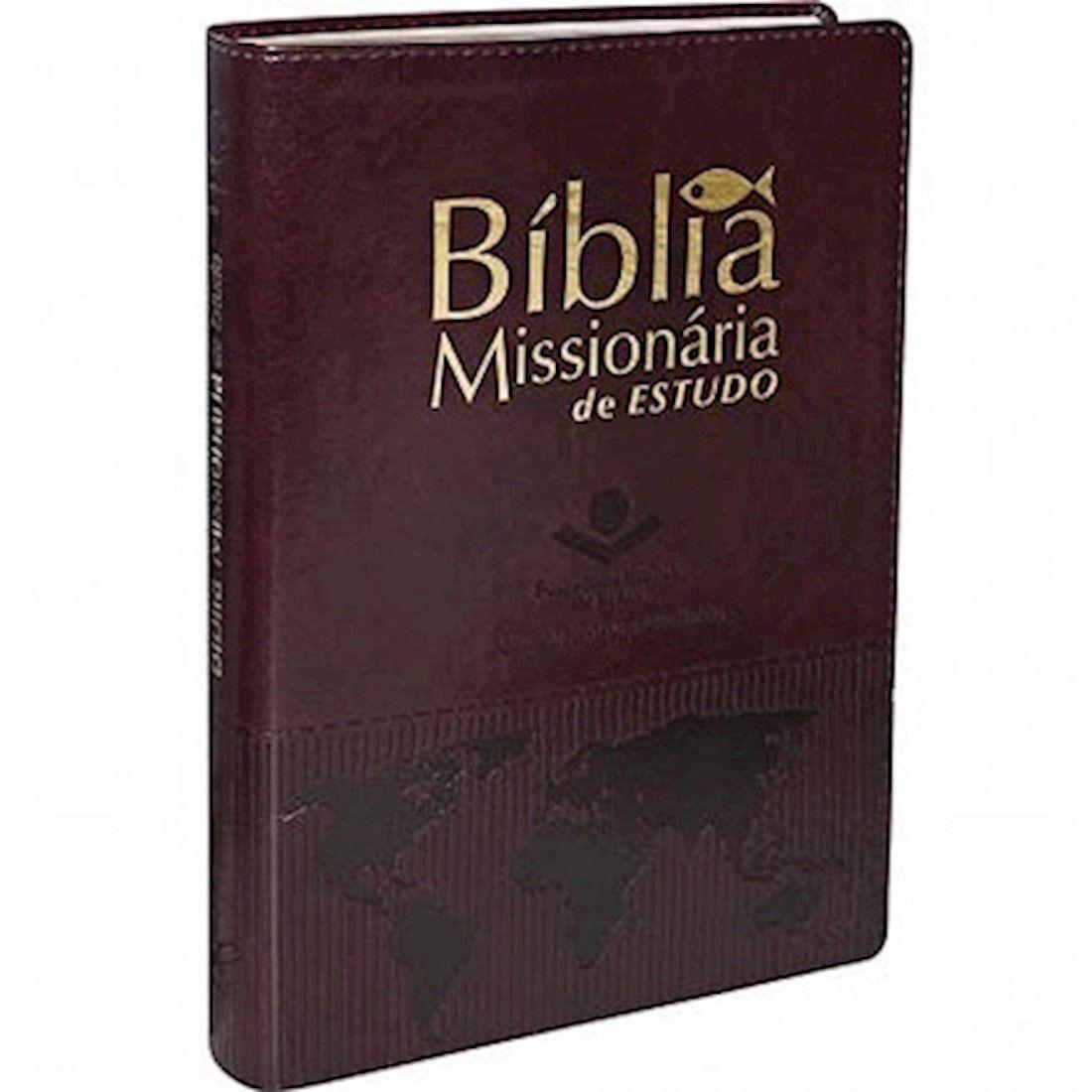 Bíblia Missionária de Estudo RA