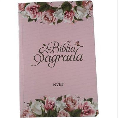 Bíblia NVI Brochura - Flores