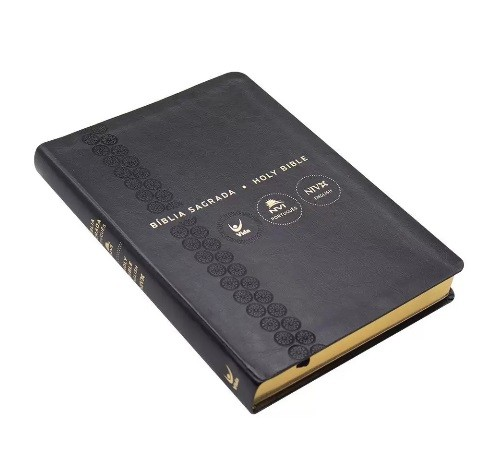 Bíblia NVI Português-Inglês Luxo