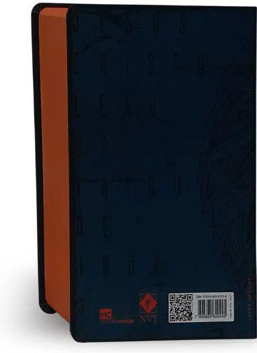 Bíblia NVT Letra Grande - Leão de Judá Azul