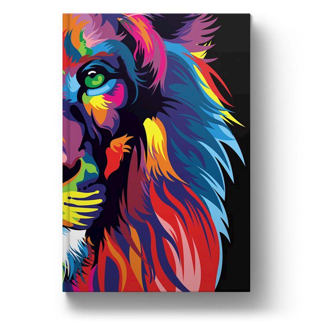 Bíblia NVT Letra Grande - Lion Colors