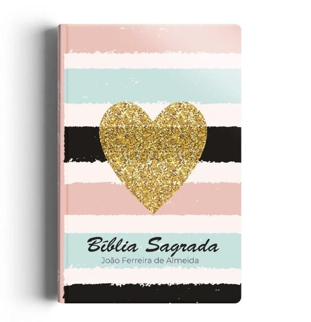 Bíblia RC Grande Capa Especial - Listrada Coração