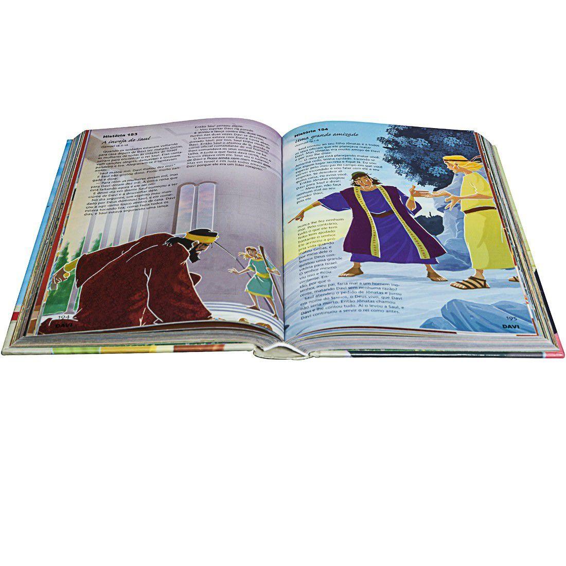 Bíblia Sagrada - 365 Histórias Ilustradas