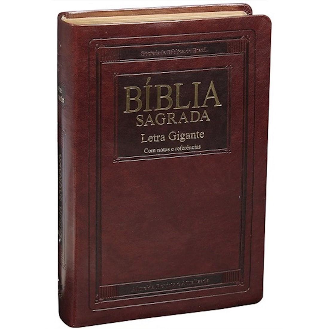 Bíblia Sagrada Letra Gigante Almeida Revista e Atualizada