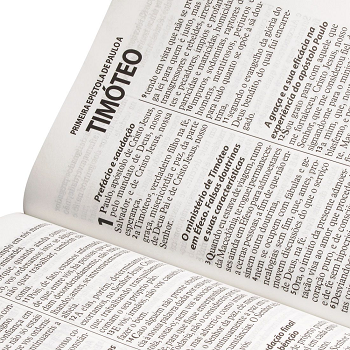 Bíblia Sagrada Letra Gigante RA - Branca