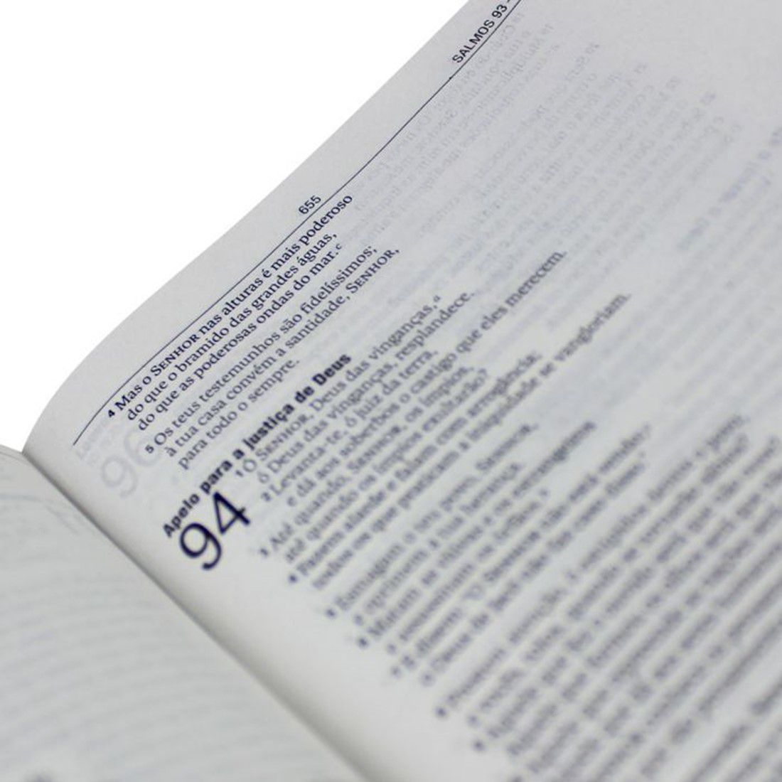 Bíblia Sagrada NAA Pequena - Capa Dura - Preta