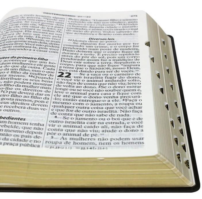 Bíblia Sagrada NTLH - Letra Extragigante
