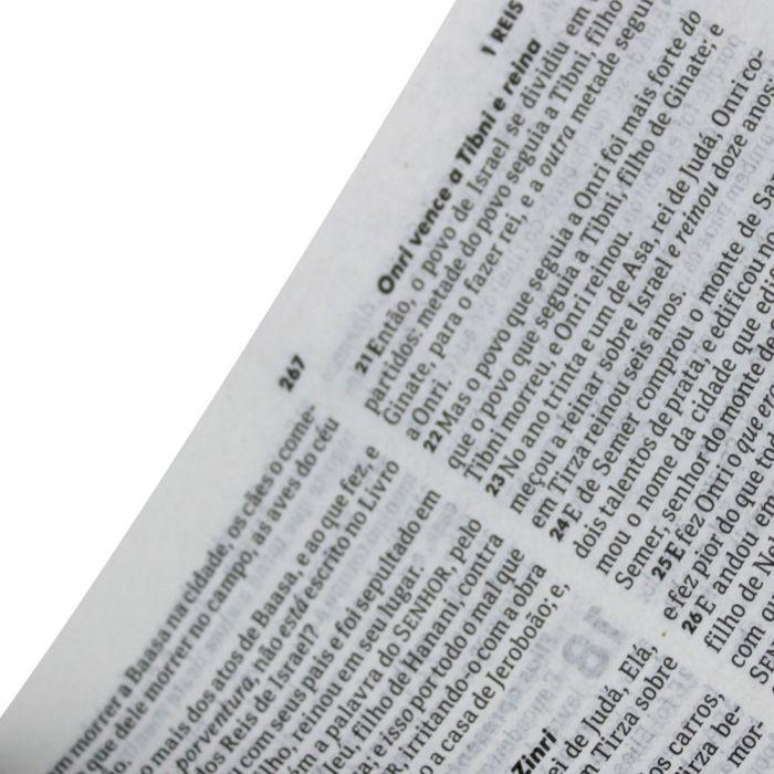 Bíblia Sagrada Slim ARC - Flores