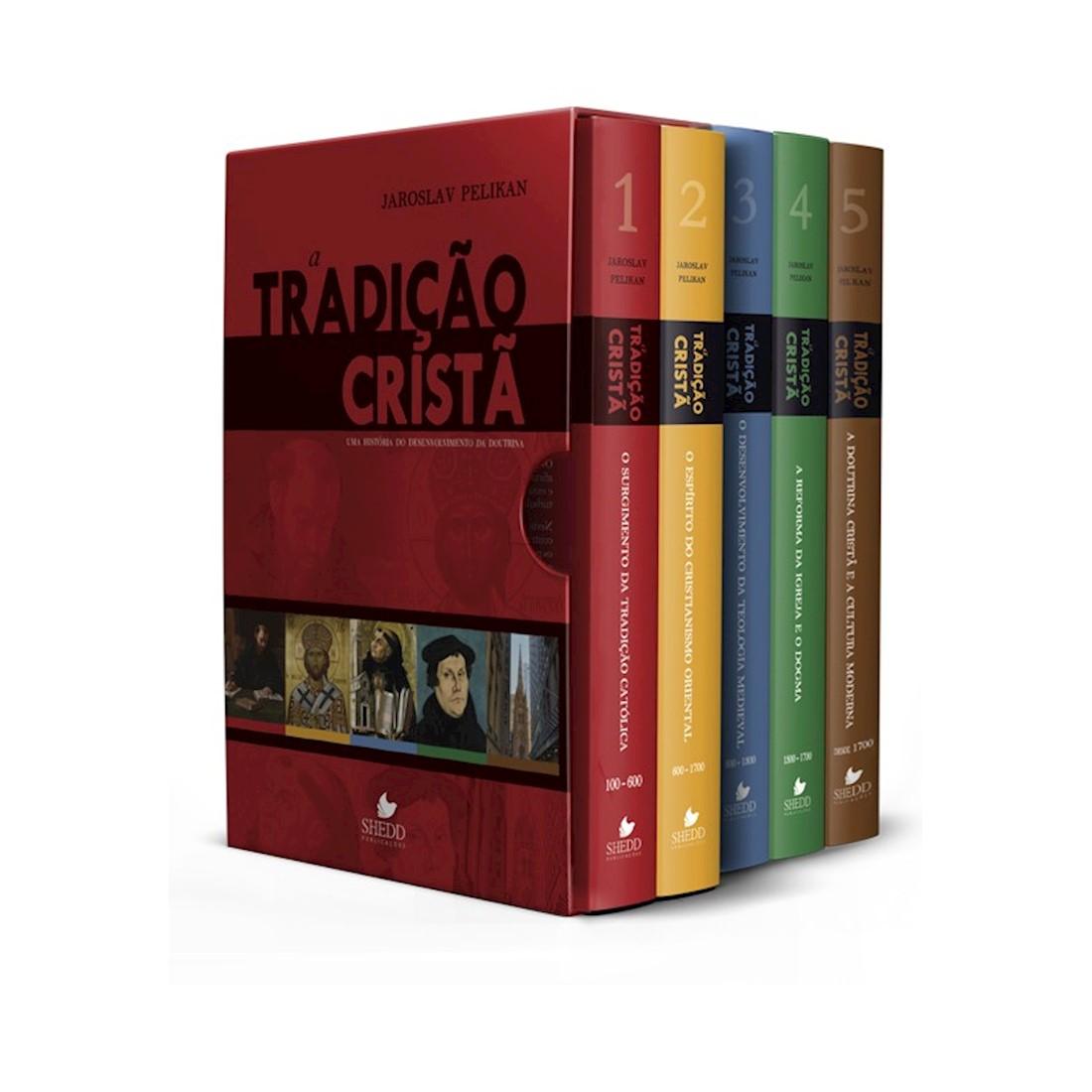 Box Tradição Cristã, A - Vols. 1 a 5