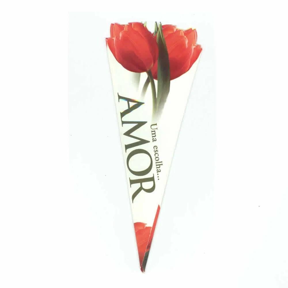 Cartão Amor - Linha Flor Tulipa