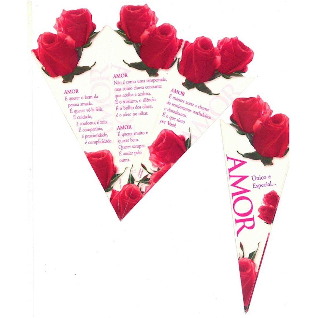 Cartão Amor - Linha Rosa