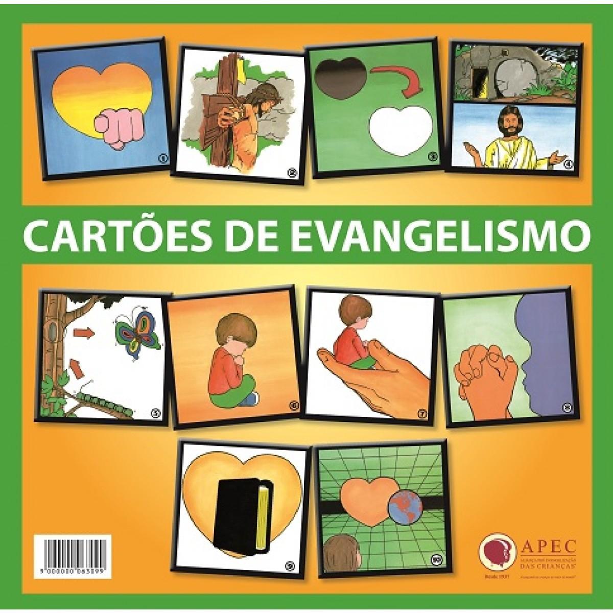 Cartões de Evangelismo Grande